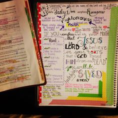 Day 17 of my Farm Girl Scripture Journal.  I'm working in Romans 10 today - love how I don't have to be artistic to do this!