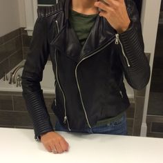 Zara Outerwear - ZARA Trafaluc Leather Jacket