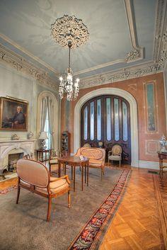 natchez plantation interior stanton hall natchez the towers ca 1798 1826 1858. Black Bedroom Furniture Sets. Home Design Ideas
