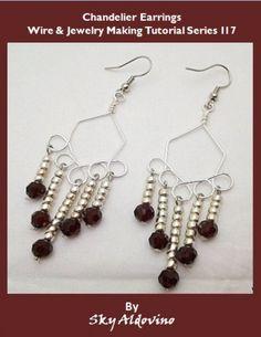 Chandelier Earrings Wire & Jewelry Making Tutorial l17