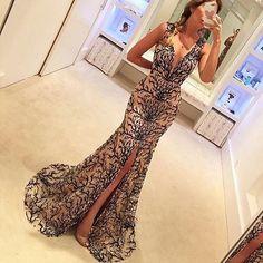 dress inspiration by@vestidoca #instapost #dressinspiration #style #partylook #fashion