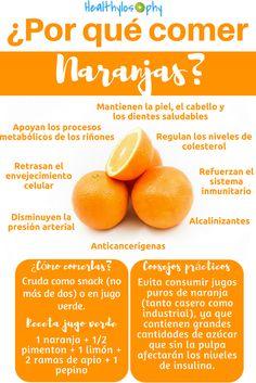 Descubre los beneficios de las naranjas