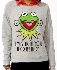 Kermit The Frog Pullover | FOREVER21 - 2019570932