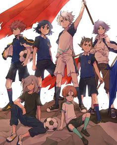 Twitter Los Super Once, Inazuma Eleven Strikers, Galaxy Movie, Cool Anime Guys, Inazuma Eleven Go, Wattpad, Attack On Titan Anime, Boy Art, Kawaii Anime