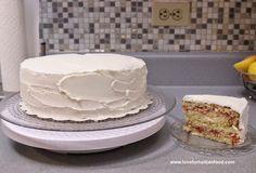 ❤️ Love For Haitian Food: The Best Haitian Cake with Buttercream Frosting #HaitianCake #Cake #YellowCake