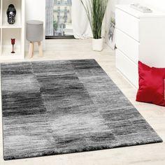 Stilvoll Wohnzimmerteppich Grau