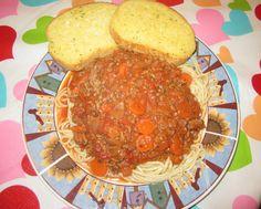 Sam Schuerman: Sam's Spaghetti Bolognese! @Style Space & Stuff Blog Schuerman