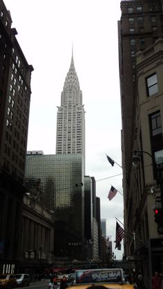 Chrysler building and his eyes