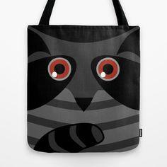 racoon - raccoon  Tote Bag
