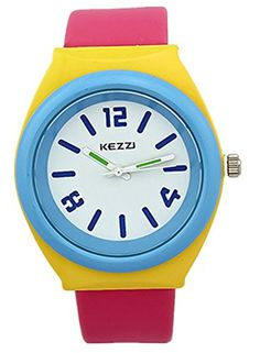 Kezzi Unisex Kids Wrist Watches K681 Quartz Analog Leather Watch for Big Teens Girls Classic Casual Waterproof Red Kezzi http://www.amazon.com/dp/B00PYT32WA/ref=cm_sw_r_pi_dp_C7Xkvb1JMWTWX