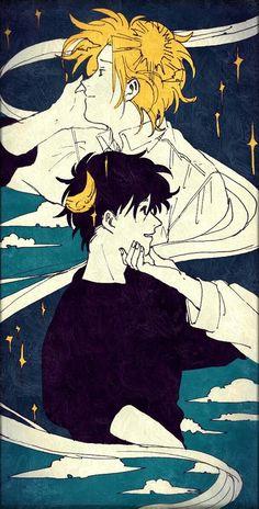 Ash deserved more life ; Manga Anime, Fanarts Anime, Anime Guys, Anime Characters, Banana Art, Fish Wallpaper, Japon Illustration, Fan Art, Animes Wallpapers