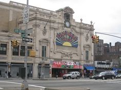 Loews Paradise in the Fordham  Road on the Grand Concourse.