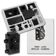 This is an inexpensive kit to build a Genuine Fotodiox DIY Lomo Camera, TLR (Using 35mm 24 Exposure B or Color Films). -