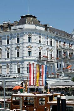 Gmunden, Austria, by vienadirecto Gmunden Austria, Heart Of Europe, Vienna Austria, Multi Story Building, Street View, Memories, Spaces, Photography, Travel