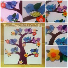 Twit Twoo Felt Family Tree - The Supermums Craft Fair