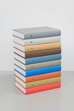 Book Collection  jesuisperdu:        micah lexier [via]