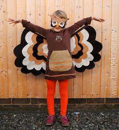 DIY Eulen Kostüm