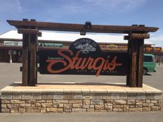 Quiet, but beautiful year round, until motorcycle time when many tens of thousands of people converge on Sturgis.