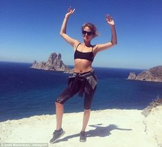 Millie Macintosh  is a fan of Chris James's Mind Body Cleanse and Yoga.