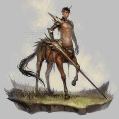 centaur lancer by len-yan on DeviantArt