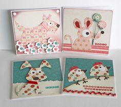 Birthday cards for girls and boys #CraftingWithKids #Cardmaking