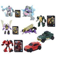Transformers Generations Titans Return Legends Wave 4 Rev. 1 Set of 4