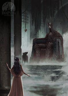 The Throne Of Morgoth by DanPilla