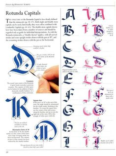 vintage book calligraphy | ... of early vintage books on the art of Calligraphy and Lettering