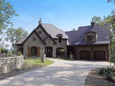 French Country Dreaming - 17505LV | 1st Floor Master Suite, Bonus Room, Butler Walk-in Pantry, CAD Available, Den-Office-Library-Study, European, French Country, In-Law Suite, Loft, Luxury, Media-Game-Home Theater, PDF, Photo Gallery, Premium Collection, Sloping Lot | Architectural Designs