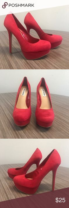 13b32a596aa Steve Madden Brand new red pump Steve Madden heels. Steve Madden Shoes  Heels Madden Shoes