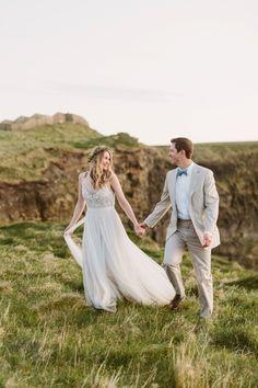 Photography: Kati Mallory Photo & Design - www.katimallory.com  Read More: http://www.stylemepretty.com/2015/06/03/ireland-destination-wedding-at-corcomroe-abbey/