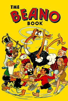 The Beano: top 20 book covers