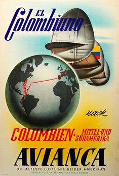 Airline Travel, New Travel, Travel Ads, Vintage Travel Posters, Vintage Airline, Retro Posters, Movie Posters, Belle Epoque, American Air
