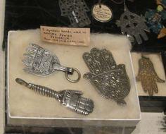Pitt rivers museum cabinet Amulets