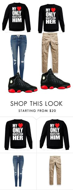 """""""Untitled #47"""" by chrissyaaniyah ❤ liked on Polyvore featuring Frame Denim, MANGO and Retrò"""