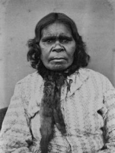 Carl Walter (1831-1907), Mary, King Billy's woman, Carngham [Lake Burrumbeet], 1866 Portrait from the composite panel, Portraits of Aboriginal natives settled at Coranderrk... Albumen silver photographs. Picture Collection, H91.1/3 and H91.1/37 [photograph]