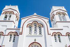 Symmetry, church in Amorgos island
