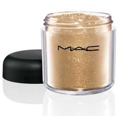 Mac Reflects Glitter Pigment Eyeshadow - Antique Gold