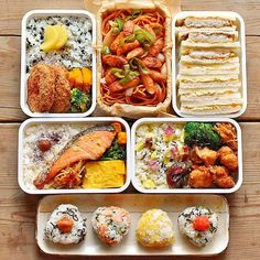 Bento Recipes, Cooking Recipes, Healthy Recipes, I Love Food, Good Food, Yummy Food, Snacks Japonais, Manger Healthy, Lunch Meal Prep