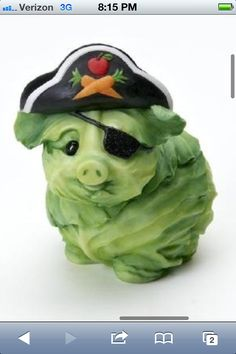 Home Grown Figures . Animals made out of veggies and fruit! Such a cool thing to collect. Check them all out here : www.dbccollectibles.com