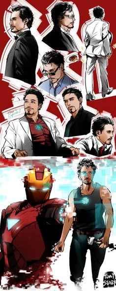 Tony Stark/ Iron Man by Storehouse Marvel Tony Stark, Marvel Dc Comics, Marvel Heroes, Marvel Avengers, Tony Stark Comic, Anthony Stark, Iron Man Tony Stark, Johnlock, Destiel