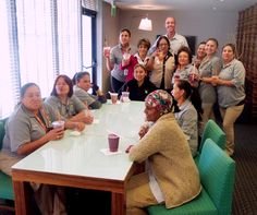 Housekeeping Week celebrations, part two! Avatar Hotel surprised their team with a refreshing Jamba Juice.