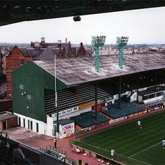Easter Road, Hibernian in the 1980s.
