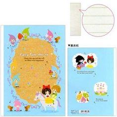 Kamio Fairy Tale World Snow White B5 Ruled Notebook