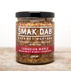 Smak Dab Gourmet Mustard Packaging on Packaging of the World - Creative Package Design Gallery