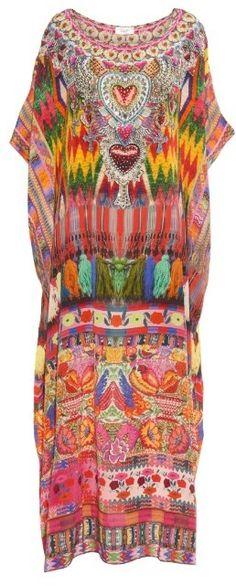 70e7216977 113 Best Silk Kaftans images | Caftans, Camilla dress, Silk kaftan