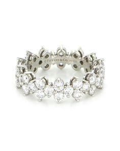 Spotted this Tiffany & Co. Aria Platinum 2.49 ct. tw. Diamond Eternity Band on Rue La La. Shop (quickly!).