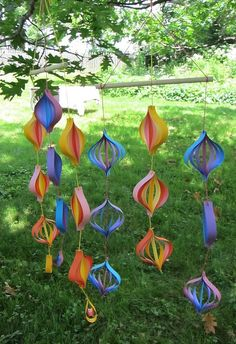 paper mobiles! | paper mobiles I made for bco craft swap. th… | Flickr