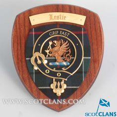 Leslie Clan Crest Pl