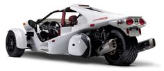Canadian company Campagna Motors developing three-wheeled vehicles is ready to launch a new model into production. Model T-REX will use BMW motorcycle engine. T-REX will go 3 Wheel Motorcycle, Reverse Trike, Womens Health Magazine, Sterling Silver Mens Rings, Love Car, Car Wheels, Automotive Design, Auto Design, Tricycle